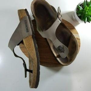 Birkenstock size 8 women leather sandals